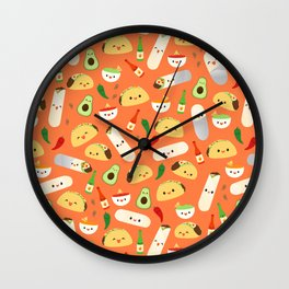 Tacos and Burritos Wall Clock