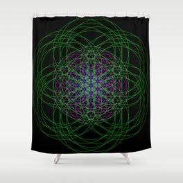 GeoLife Shower Curtain