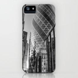 London Gherkin, London iPhone Case