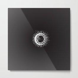 Celestial Sun Moon Metal Print