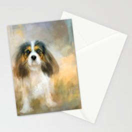 The Attentive Cavalier Stationery Cards