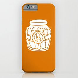 Cucumber Pickle Pickling gherkin Spice iPhone Case