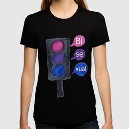 bisexual light T-shirt