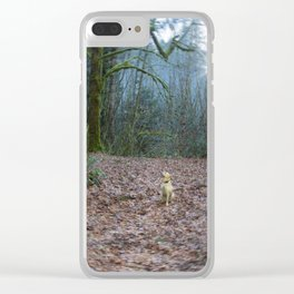 The World She Lives In Clear iPhone Case