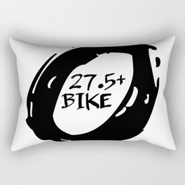 27.5 plus bike Rectangular Pillow