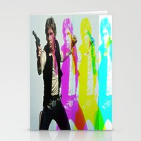 han solo Stationery Cards featuring Han Solo by Iotara