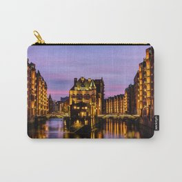 City of Warehouses - Speicherstadt in Hamburg, Germany Carry-All Pouch