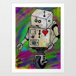 8-Bit Luv Art Print
