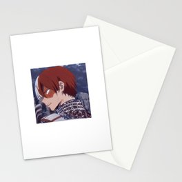 Shoto Torodoki Aesthetic sparkles Stationery Cards