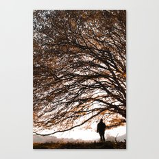 Under the safe arms of the tree Canvas Print