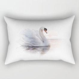 The Swan Princess Rectangular Pillow