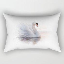 The Swan Princess Rectangular Pillow