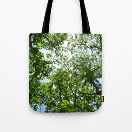 Reunion Treescape Tote Bag