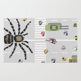 World's Largest Spider Rug