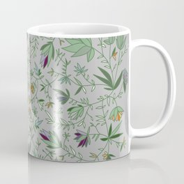 Floral Weave Multi Coffee Mug