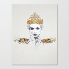 The Queen #1 Canvas Print