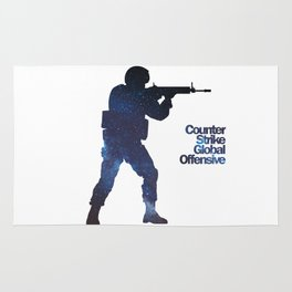 Space Army - Counter Strike Rug