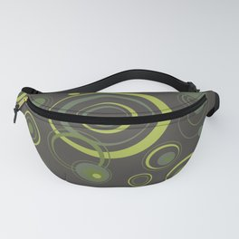 Psychedelic Circles Fanny Pack