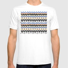 Ethnic Color White MEDIUM Mens Fitted Tee