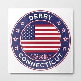 Connecticut, Derby Metal Print