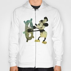 Mickey Mouse as Steamboat Willie Hoody