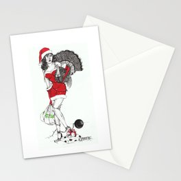 Tangled up in Christmas Stationery Cards