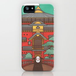 Kaonashi iPhone Case