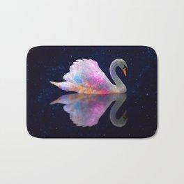 Swan Lake Galaxy Bath Mat