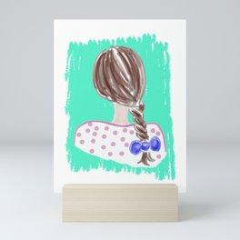 Braid #society6 #buyart Mini Art Print
