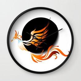 Phoenix Phase Logo Wall Clock