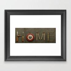 Home Vintage Tools Framed Art Print