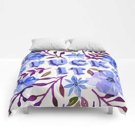 F*ck It – Blueberry Palette Comforters