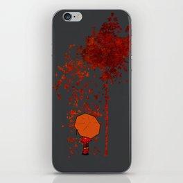 Autumn Burns iPhone Skin