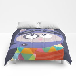 Aviator cat Comforters