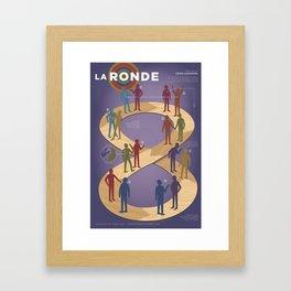 Improv Forms: La Ronde Framed Art Print