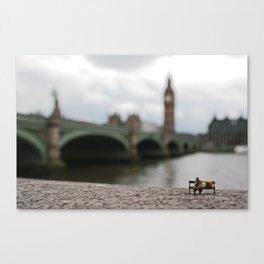 London homeless. Canvas Print