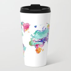 map Metal Travel Mug