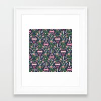 tennis Framed Art Prints featuring Tennis by Laura Mayes