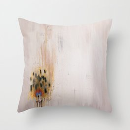 Burn Down Pretty Throw Pillow