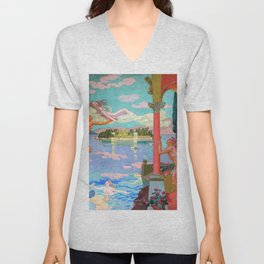 Zephyr Carries Psyche To The Island Of Bliss - Digital Remastered Edition Unisex V-Neck