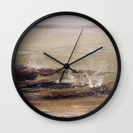 Coastal Spritz Wall Clock