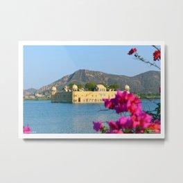 Jal Mahal, Jaipur, Rajasthan Metal Print