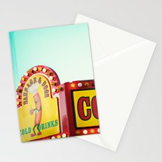 Corn Dogs Stationery Cards