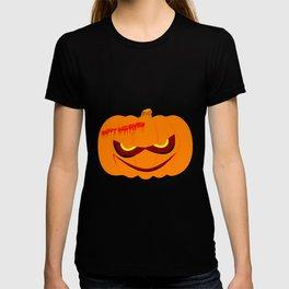 Evil Halloween Pumpkin T-shirt