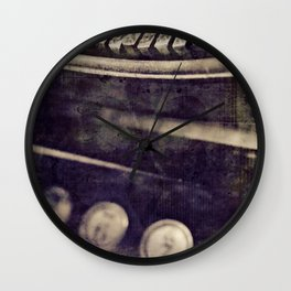 creation of a word Wall Clock