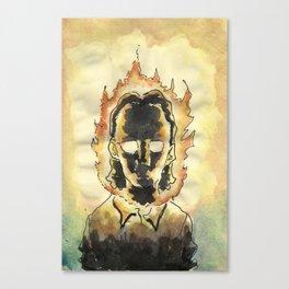 En fuego. Canvas Print