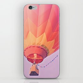 Summer Hot Air Balloon iPhone Skin