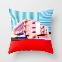 bauhaus Throw Pillows featuring Bauhaus · Das Bauhaus 6 by Marko Köppe