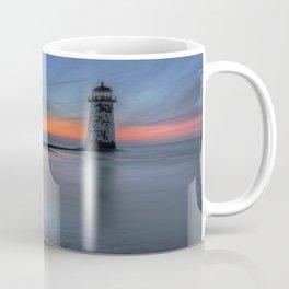 Sunset at the Lighthouse v3 Coffee Mug