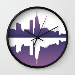 Chicago Afternoon Wall Clock